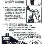 Freedom Fighters Handbook - Molotov Cocktail